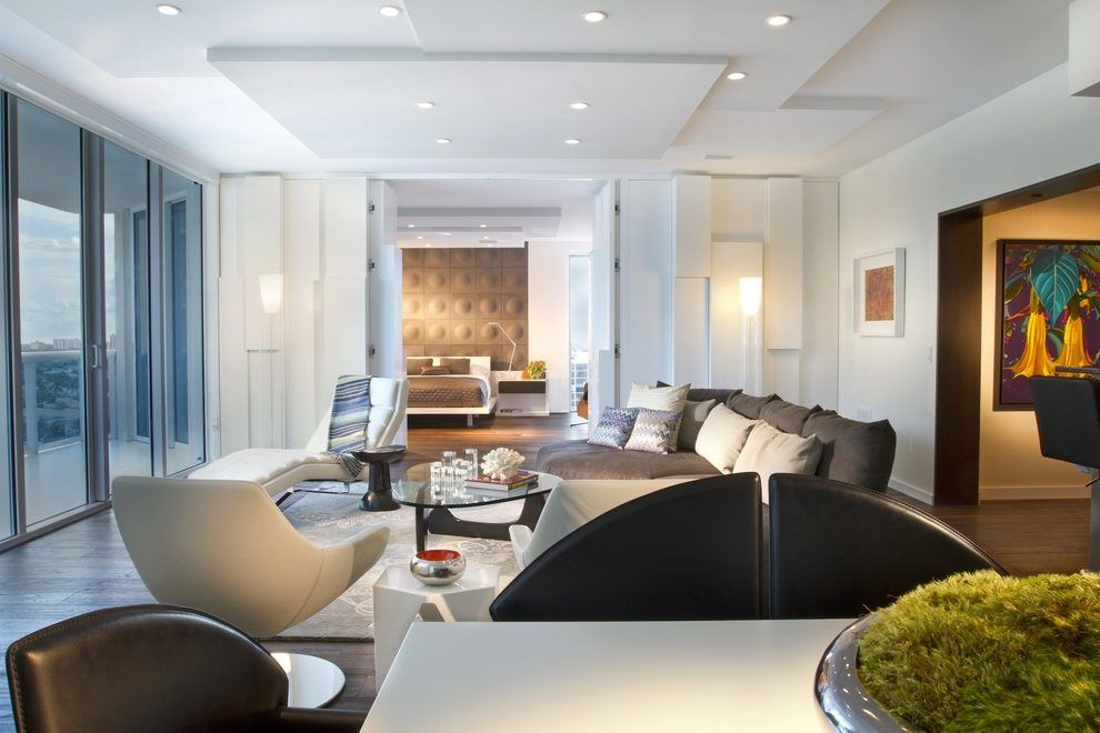 Wall ceiling design for hall living room contemporary with