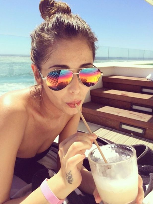 034a3edbcda6 rainbow aviator sunglasses. rainbow aviator sunglasses Cheryl Cole ...