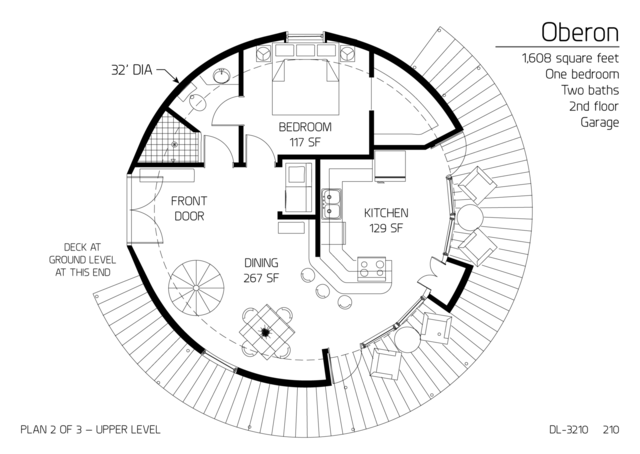 Monolithic Dome Homes Can Be Designed And Constructed With More Than One Level This Section Displays Those Plan Round House Plans House Floor Plans Dome House