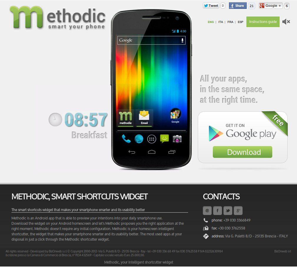 Methodicapp, the Android app to make your phone smarter. http://www.methodicapp.com/
