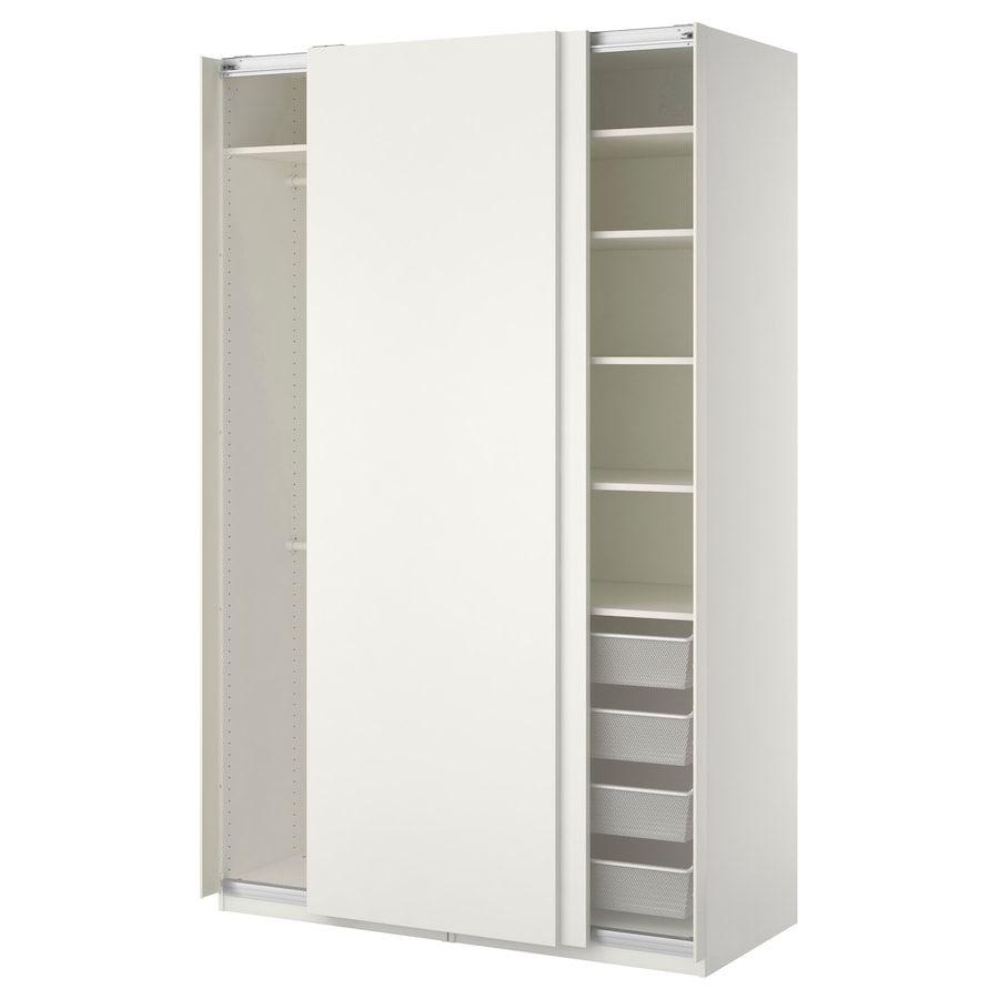 PAX Kledingkast wit, Hasvik wit 150x66x236 cm Ikea