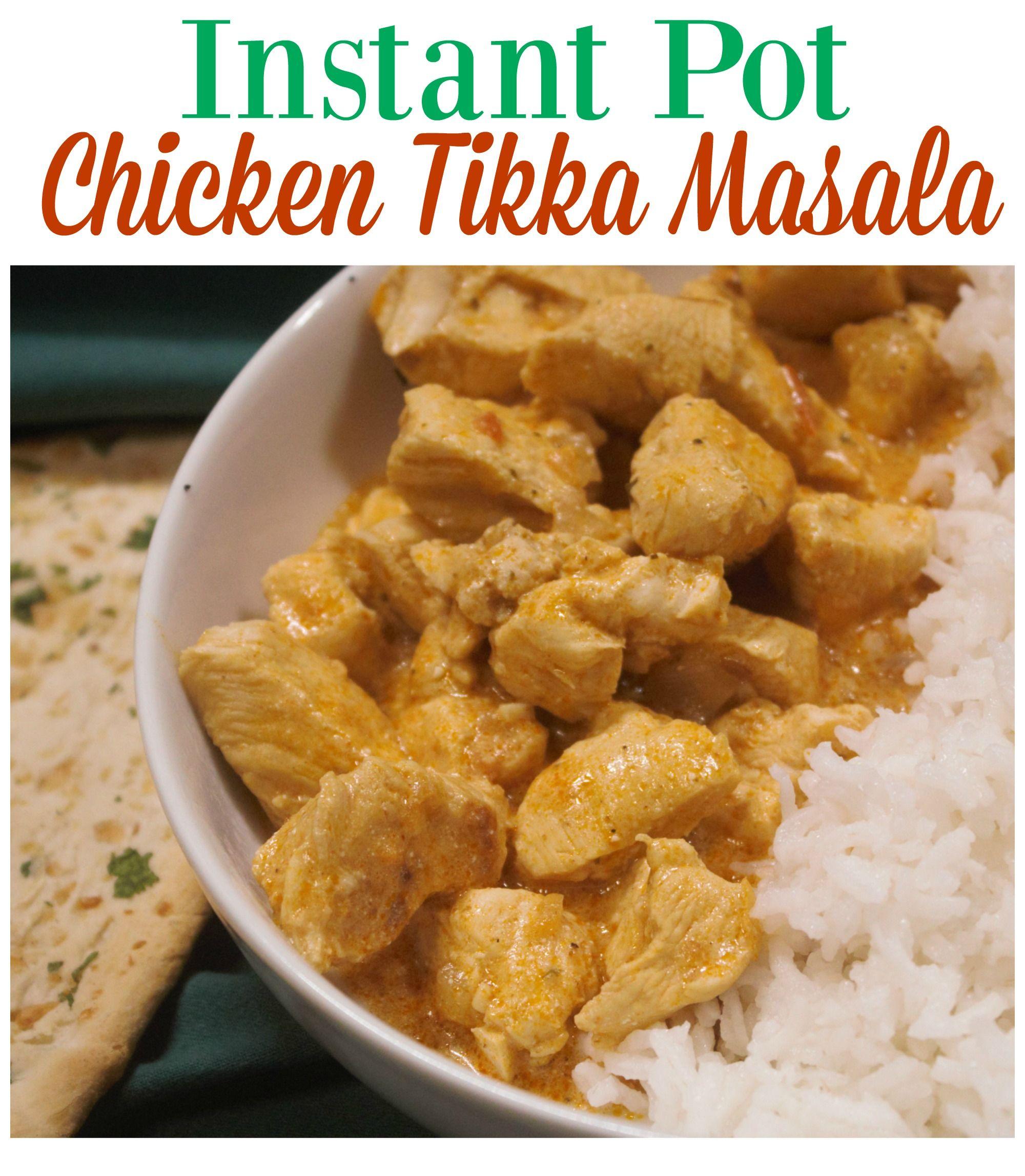 Chicken Tikka Masala made via  Pot in Pot in the Instant Pot.