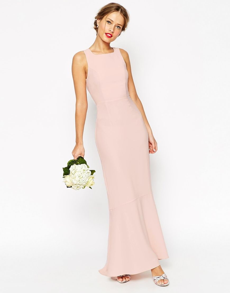 9e3f4f4d483b Blush and Pink Bridesmaid Dresses for Weddings