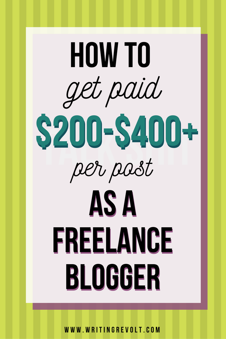 lance blogging how to get paid per post write   lance blogging how to get paid 200 400 per post