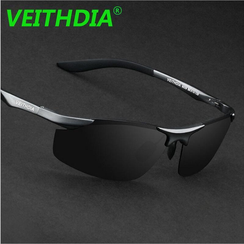 1634ba440 VEITHDIA Aluminum Magnesium Brand Designer Polarized Sunglasses Men Glasses  Driving Glasses Summer 2017 Eyewear Accessories 6529