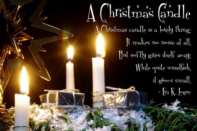 12 Days of Christmas Devotions (Day 7): A Christmas Candle ...