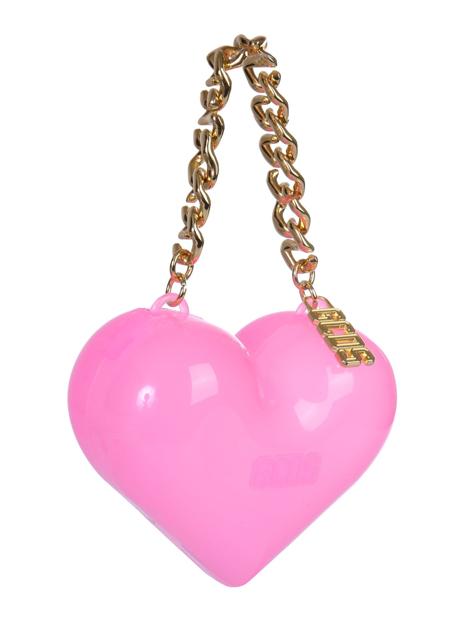Best Price On The Market At Italist Gcds Gcds Muse Heart Bag Heart Bag Bags Orange Band