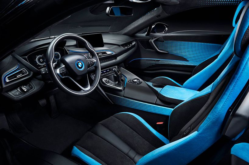 Make Way For The BMW I8 And I3 Crossfade Special Editions With 19th Century  Pop Art Pixels!