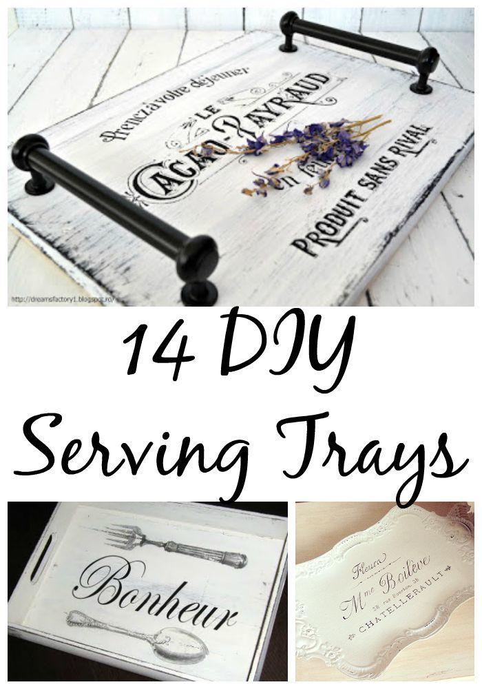 14 Diy Serving Tray Ideas Diy Serving Tray Diy Tray Tray