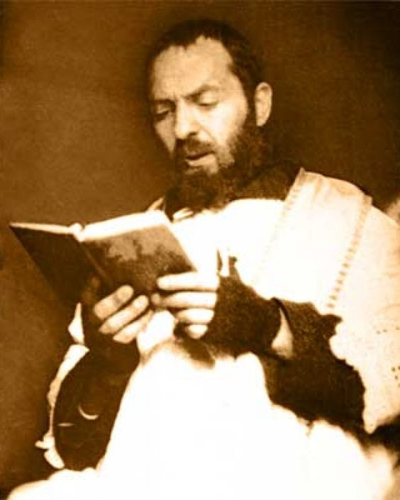 Happy Memorial of St Padre Pio/Pius of Pietrelcina – September 23 #pinterest #stpadrepio From his early childhood, it was evident that FRANCESCO FORGIONE had a deep piety. When he was five years old, he solemnly consecrated himself to Jesus. He liked to sing hymns, play church and preferred to be by himself where he could read and pray. As an adult, Padre Pio commented that in his younger years..............