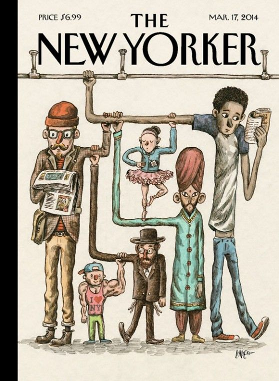 "the new yorker por ""liniers"""