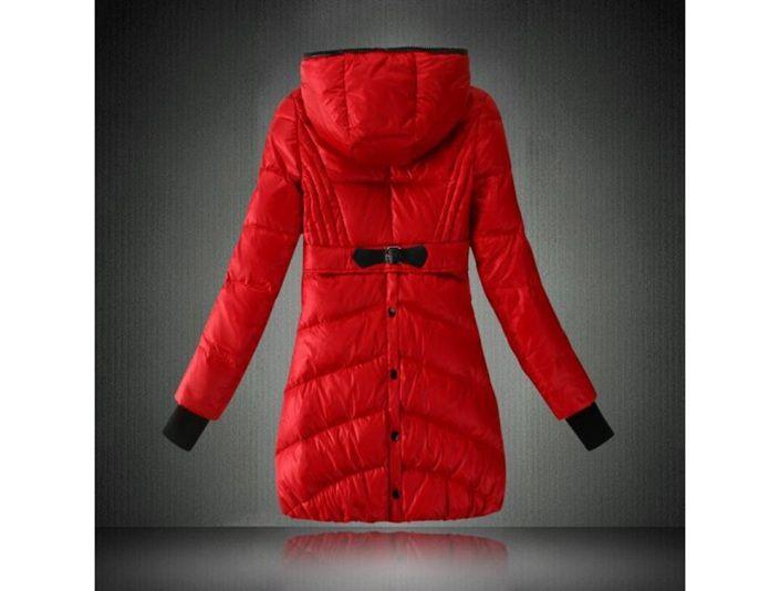 Rote jacke lang