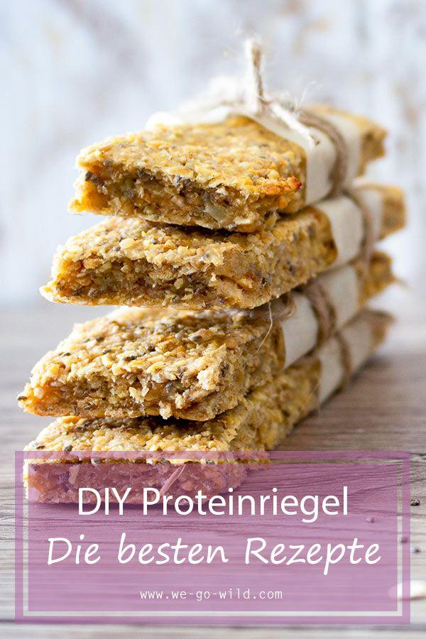 Eiweißriegel selber machen: Die besten Proteinriegel Rezepte