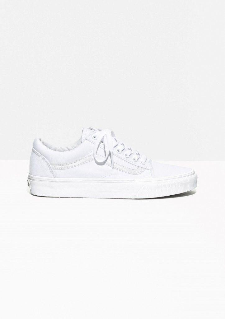 basket blanche vans femme