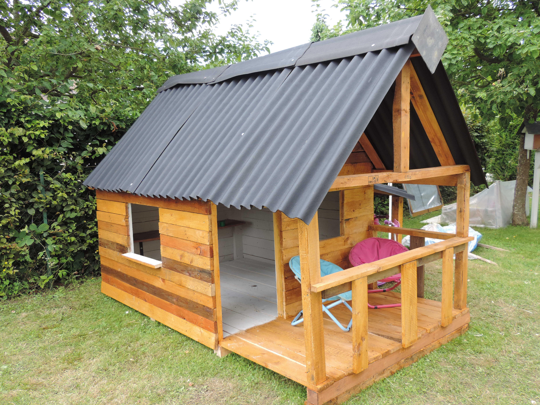 Maison De Jardin Pour Enfant / Pallets Kids House | Pallet ...