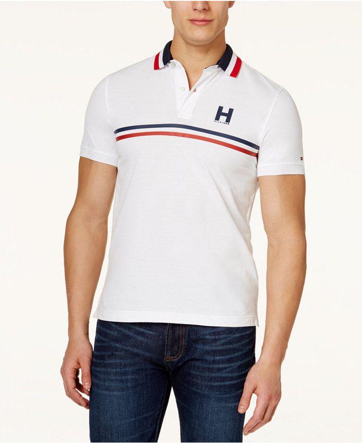 b6a2258fcbf Tommy Hilfiger Men's Nash Polo Shirt | T-Shirt | Tommy hilfiger ...