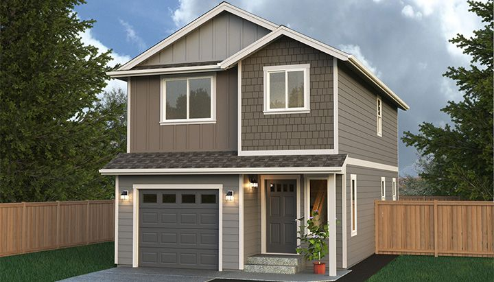 Town House Home Plan Multi Level Two Story Home Built On Your Lot Fully Customizable Floor Plan Wi Building A House Narrow Lot House Plans Narrow Lot House