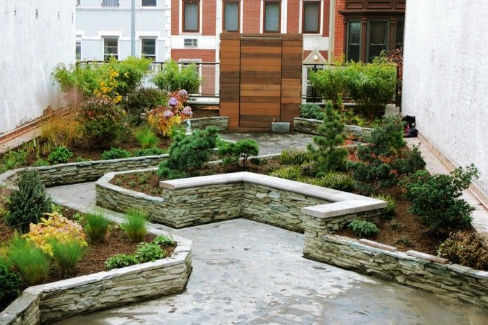 Charmant Stone Garden Ideas Plant Urban Look