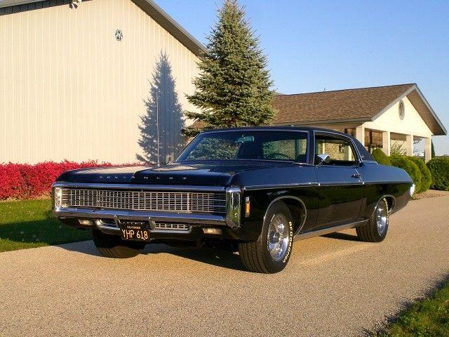 SOLD >1969 Chevrolet Caprice 427 V8 Classic Car Unrestored Survivor< - Selling A...