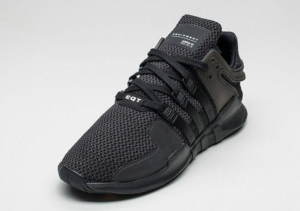 the best attitude 87d25 3b8b0 adidas EQT Support ADV Triple Black | Shoes | Adidas eqt adv ...