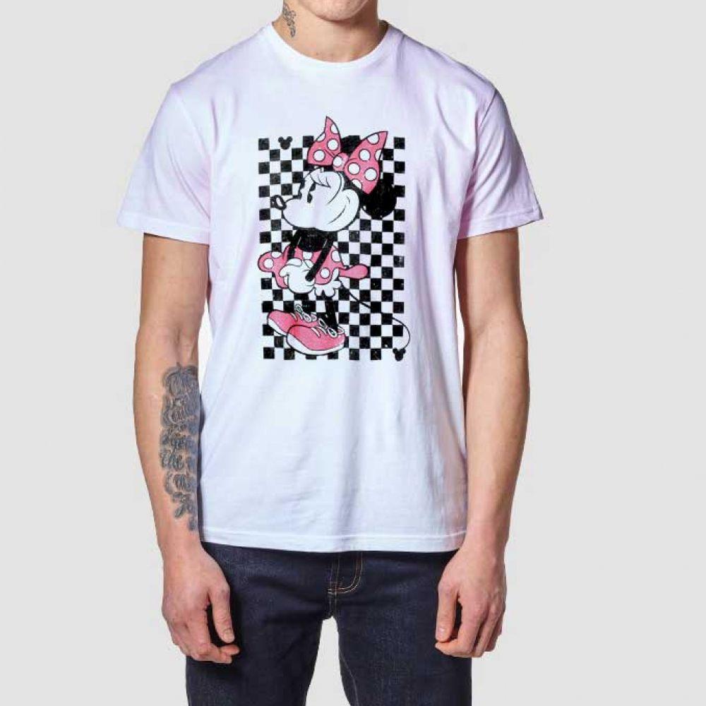 Vans Minnie Mouse Shirt Checkerboard T Shirt | Clothing