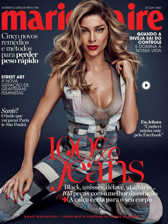 Marie Claire Brasil Julho 2015 Grazi Massafera