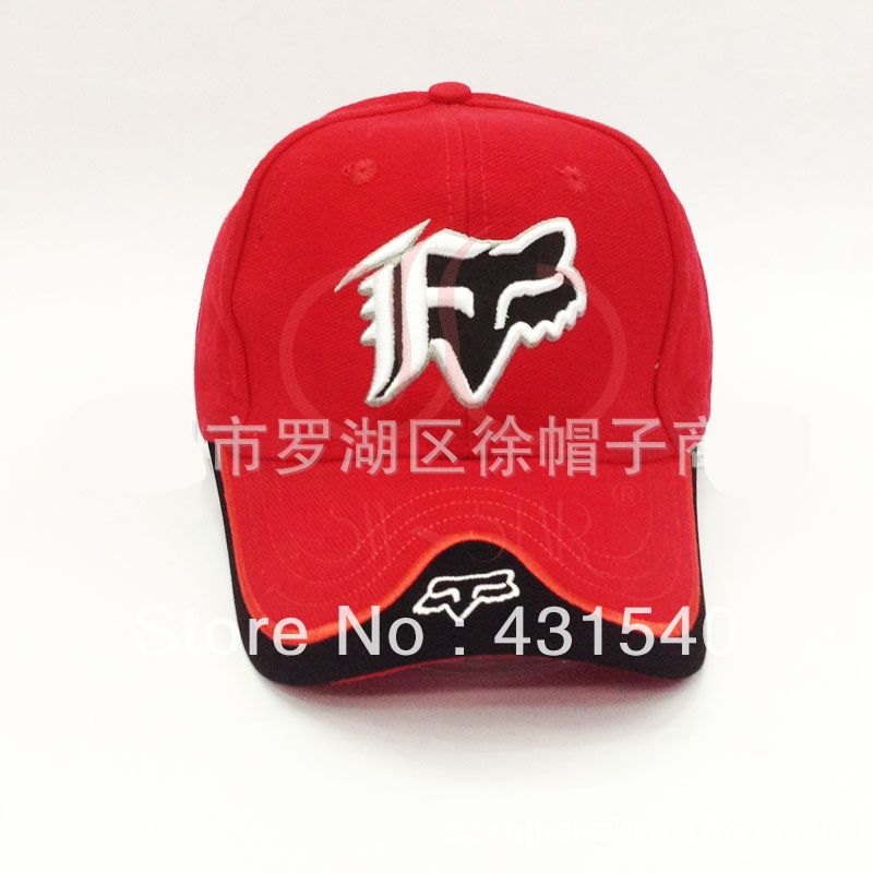 Fox embroidery baseball caps sports car racing hat truck sun visor fox embroidery baseball caps sports car racing hat truck sun visor cotton caps 4 colors c54 ccuart Images