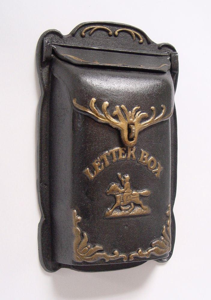 Wanddeko Vintage briefkasten eisenguss geschenk in vintage wand deko mr