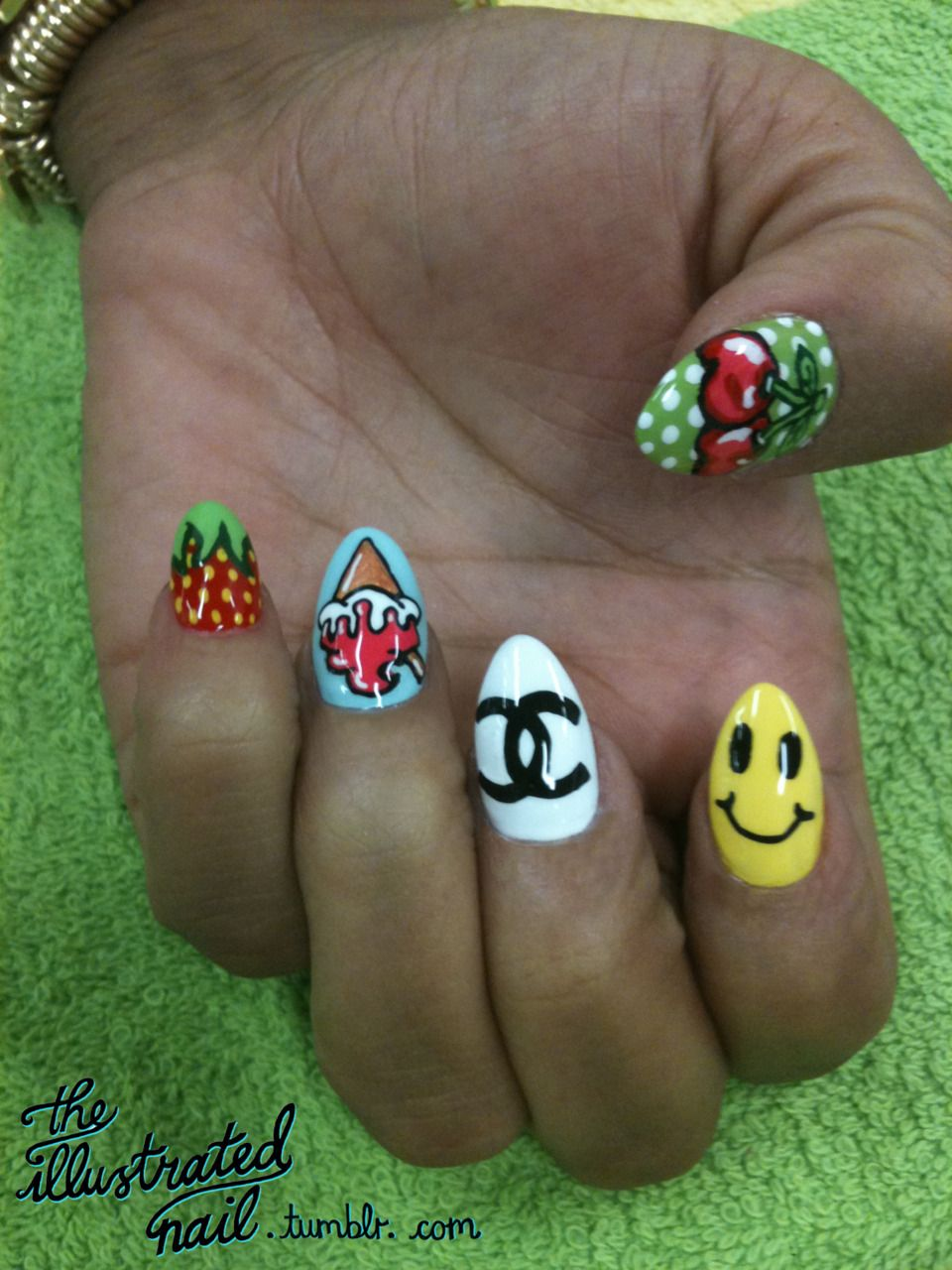 #fashion  #nails  #strawberry  #chanel  #smile  #cherry