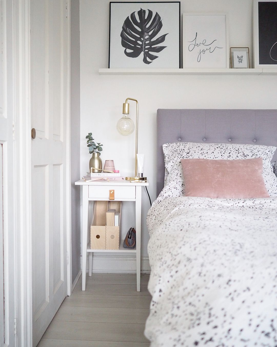 Bedroom Inspo Blush Pink And Grey Bed Bedroom Decor Grey Pink
