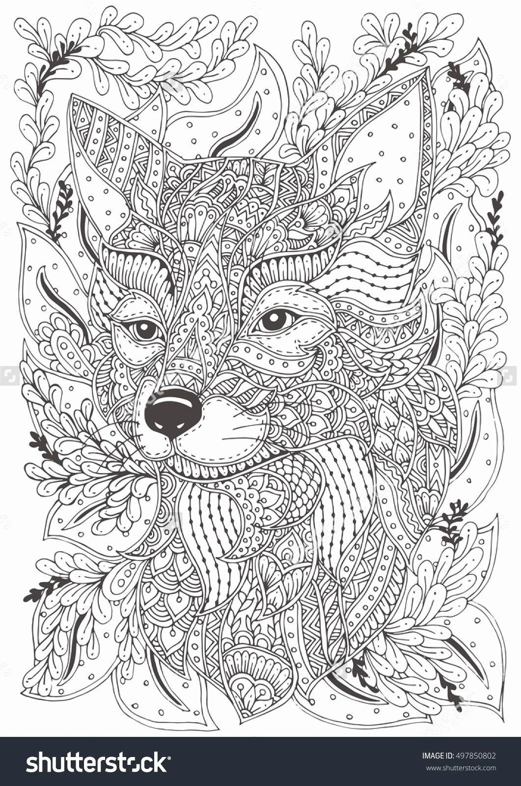 Coloriage Animaux Adulte