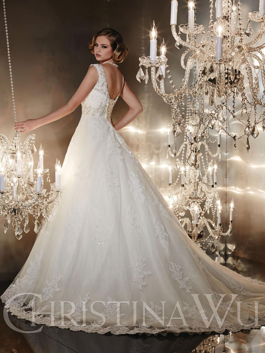Christina Wu 15542 Bridal Collection The Wedding Bell Tacoma WA