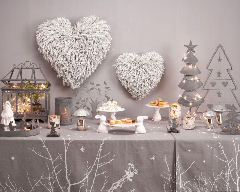 Noël argenté, Jardin d\'Ulysse : Déco féerique pour un Noël de rêve ...