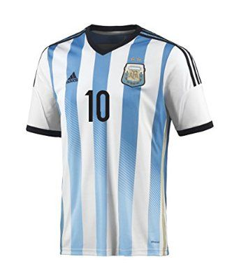 Adidas MESSI  10 Argentina Home Jersey World Cup 2014  2b45aa3b8
