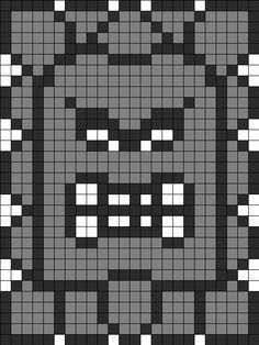 Mario Beads Granny Squares Patterns Fused Beads Perler Beads