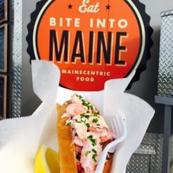Photo of Bite Into Maine - Cape Elizabeth, ME, United States. Maine style lobster roll