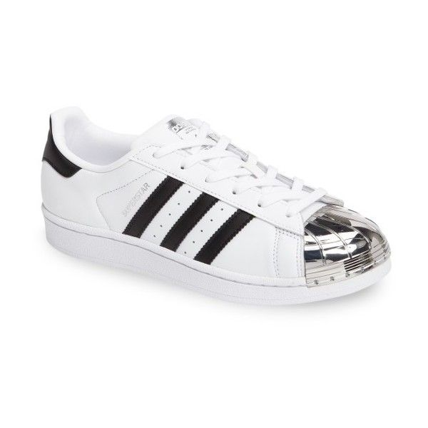 a3a91629 Women's Adidas Superstar Sneaker (905 SEK) ❤ liked on Polyvore featuring  shoes, sneakers, adidas trainers, mirror shoes, adidas footwear, retro  sneakers ...