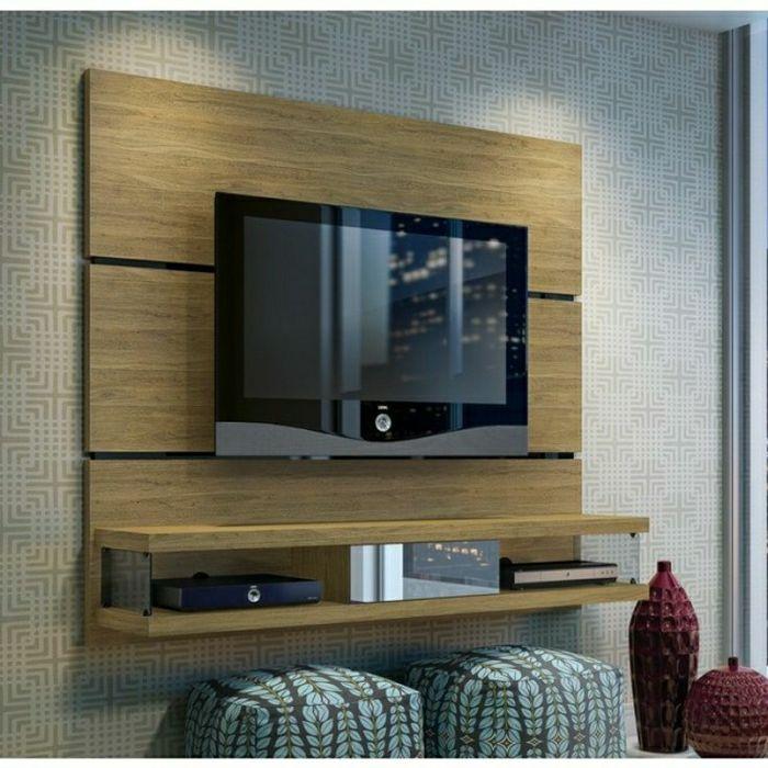 tv wandpaneel 35 ultra moderne vorschl ge wandpaneele holz fernsehwand und. Black Bedroom Furniture Sets. Home Design Ideas
