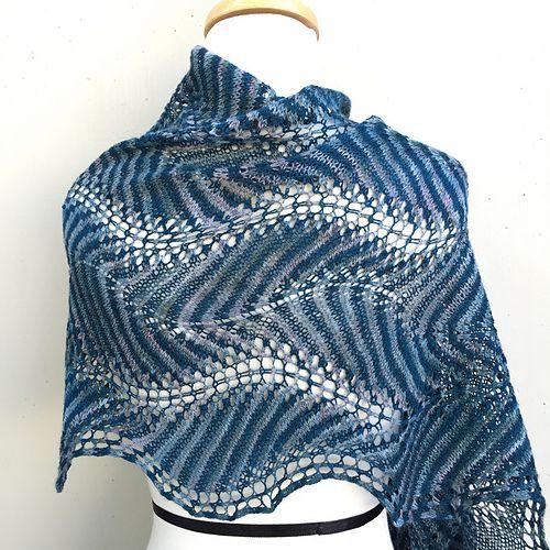 Shetland Ruffles pattern by Kieran Foley | Tücher, Stricken und Schals
