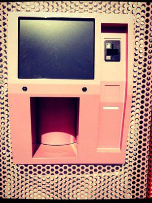 A cupcake ATM. Pretty cool.