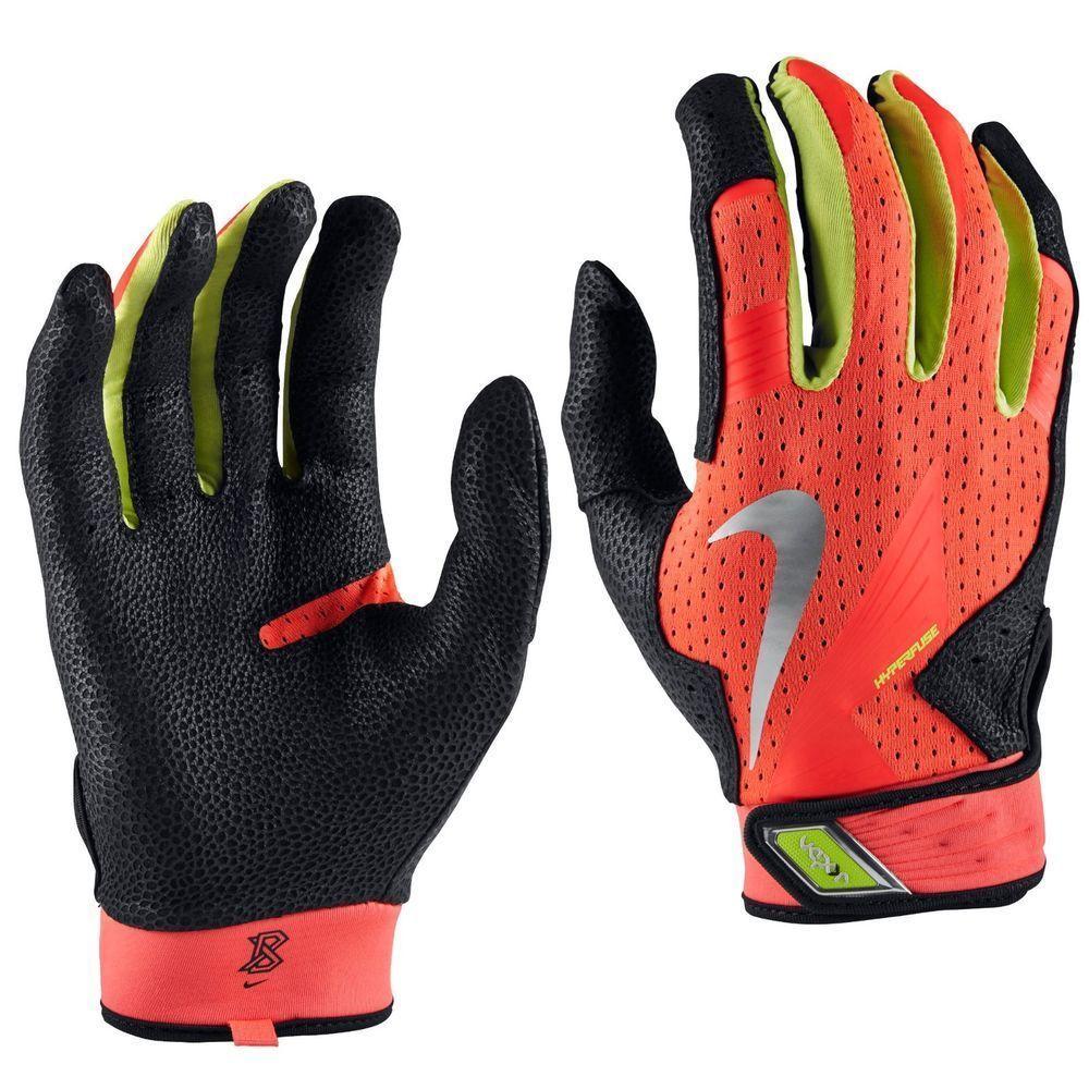Nike vapor elite pro batting gloves gb0372 670 atomic red