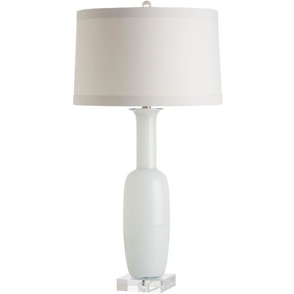 Arteriors Home Kristie White Gl Bottle Table Lamp 465 Cad