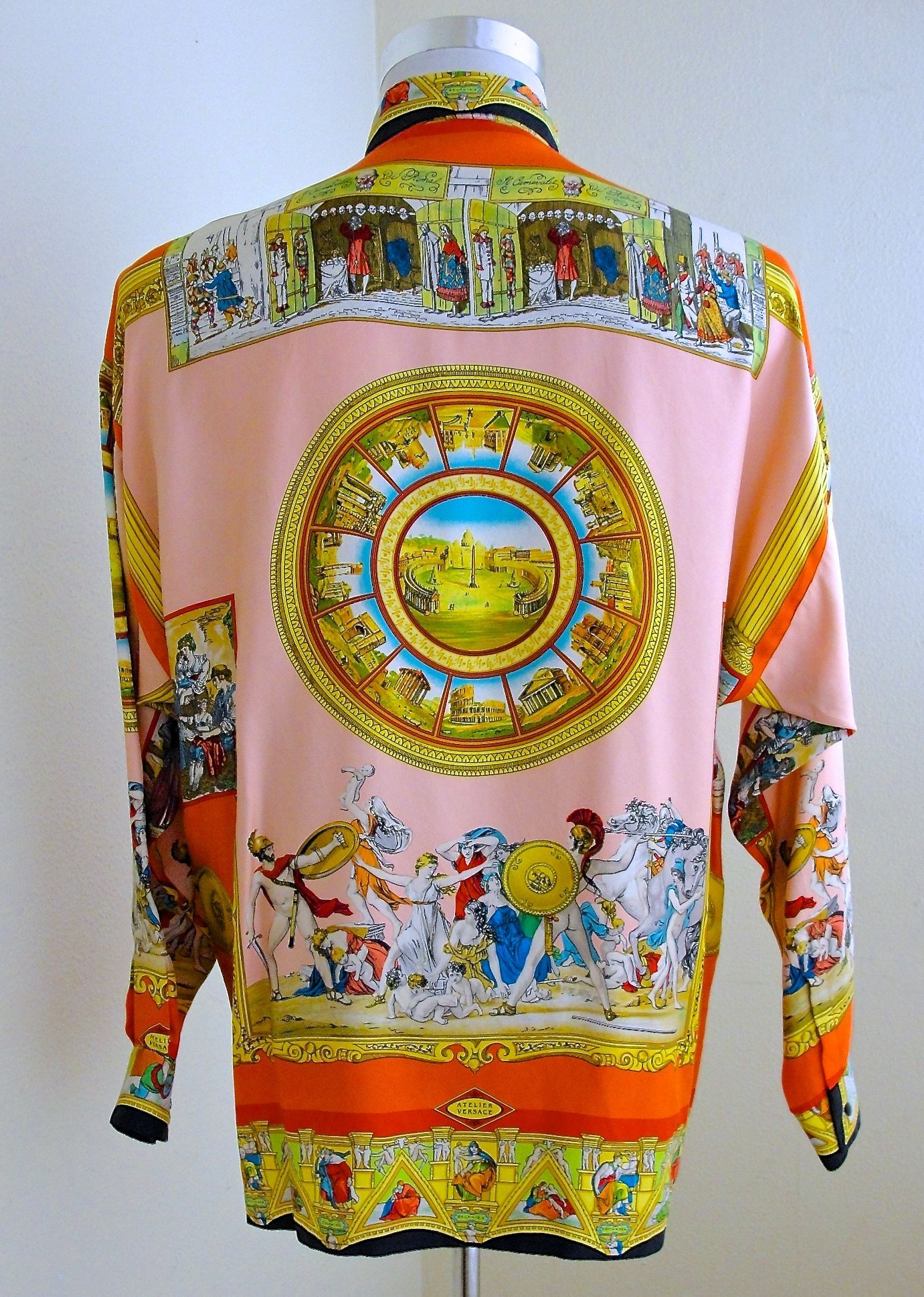 40c5f150 mens vintage versace silk shirts for sale | Versace in 2019 ...