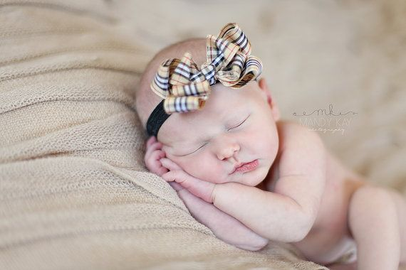 baby girl burberry headband