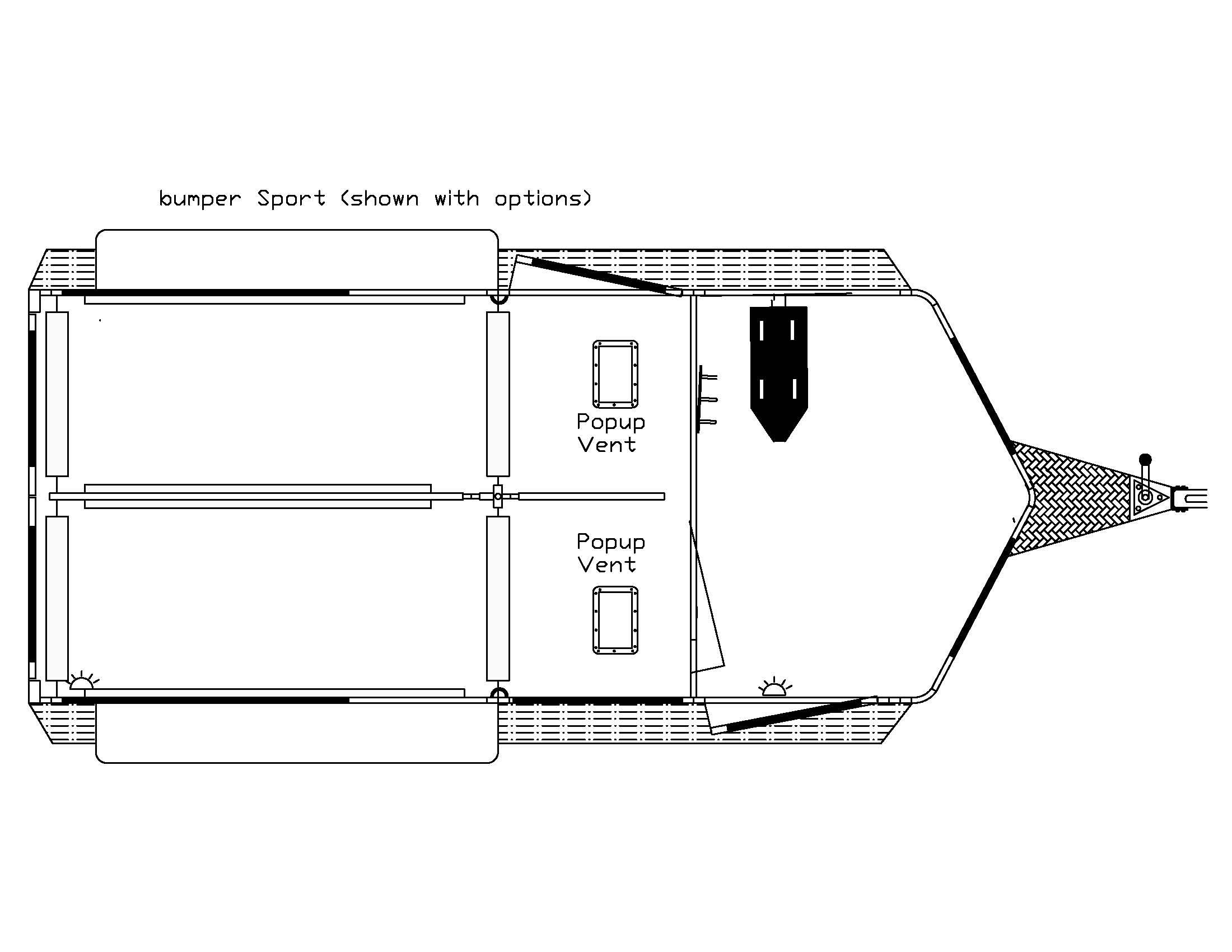 Double D trailers floor plans, 21,500 with options