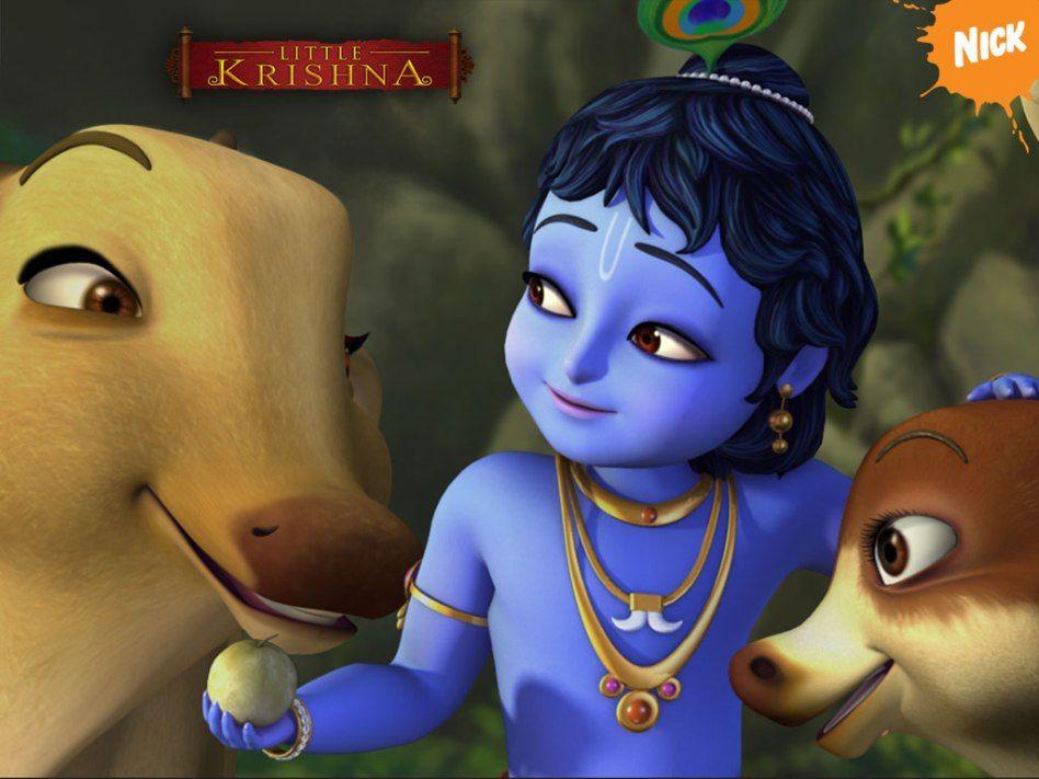 Lord Krishna Cartoon 3d Images Little Krishna Krishna Wallpaper Lord Krishna