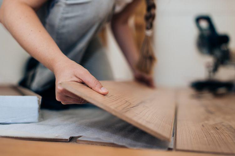 Floating Floors Offer Easy Diy Installation In 2020 Laminate Flooring Floating Floor Installing Laminate Flooring