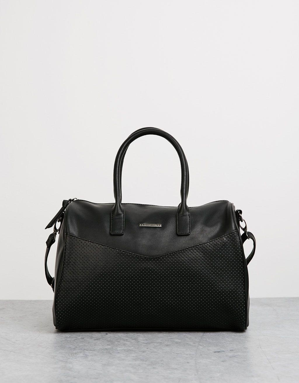 0efb11f594 Perforated bowling bag - Bags - Bershka Israel