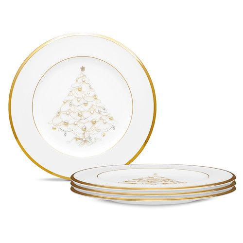 Palace Christmas Gold 8 5 Holiday Accent Plate Gold Christmas Christmas China Noritake