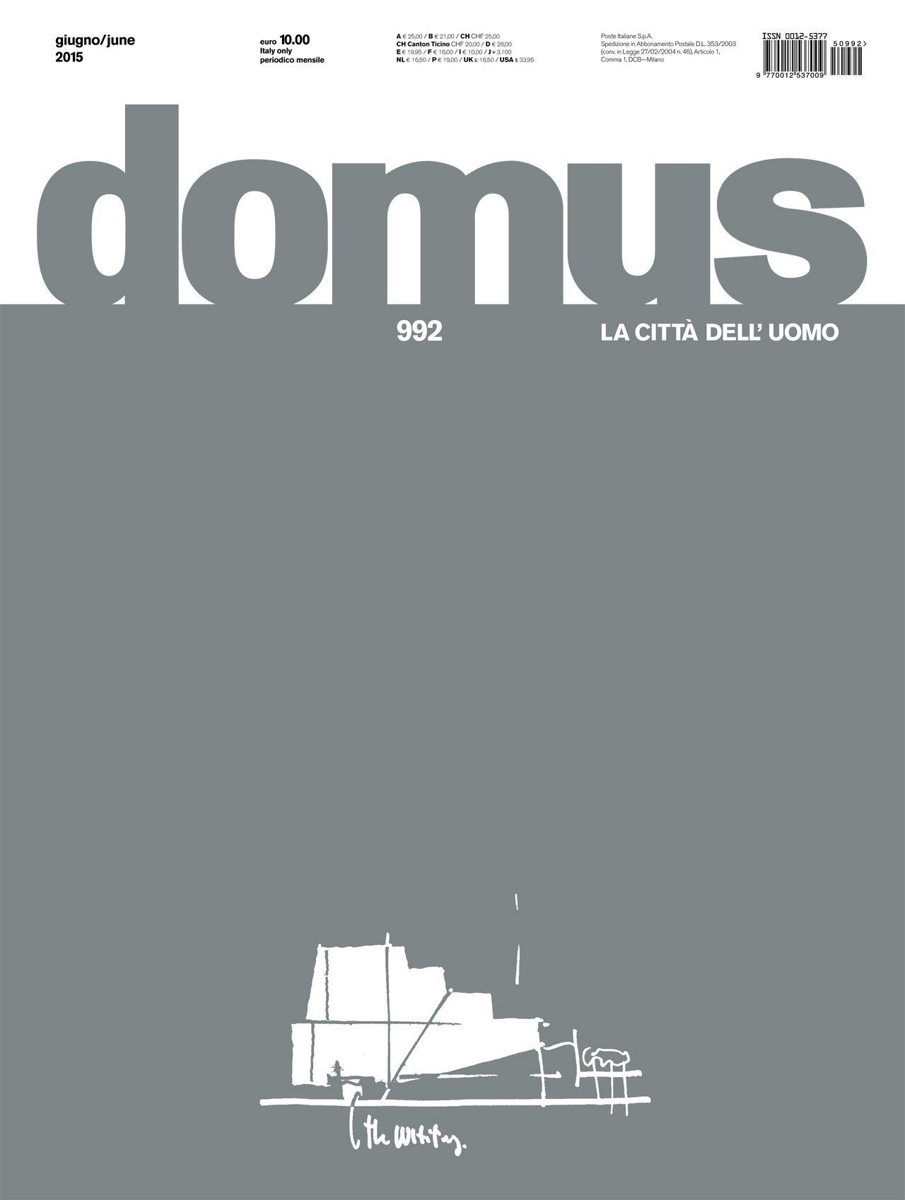 Domus 992, June 2015